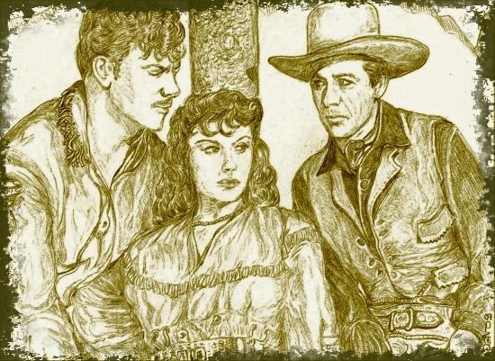Paulette Goddard, Preston Foster, Gary Cooper par didgiv